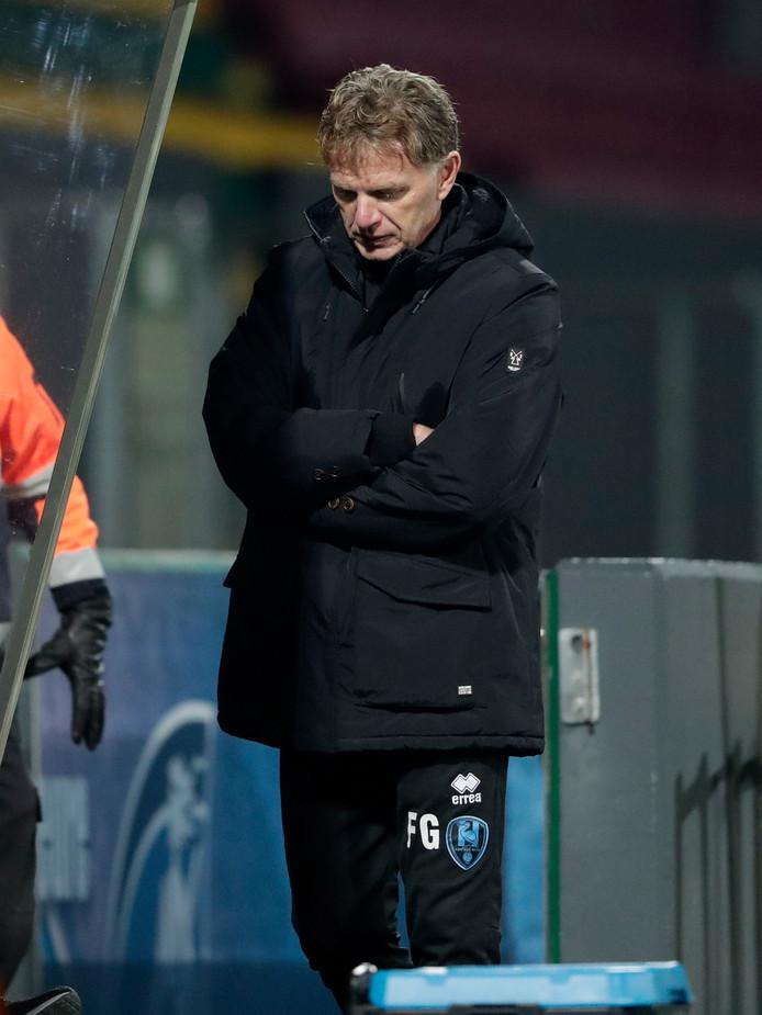 ADO-coach Alfons Groenendijk.