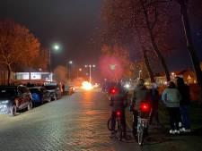 Onrustige avond op Urk: meerdere branden en vuurwerk afgestoken