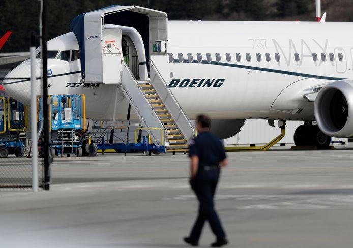 Een Boeing 737 Max-toestel.