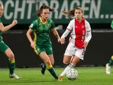 ADO Den Haag Vrouwen strijdend ten onder tegen koploper Ajax: 'Dat zit in het dna van de club'