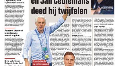 Zelfs Hugo Broos en Jan Ceulemans deed hij twijfelen