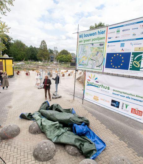 Van streekmarkt tot lentefair, paviljoen in aanbouw in Doepark Almelo straks plek voor vele activiteiten