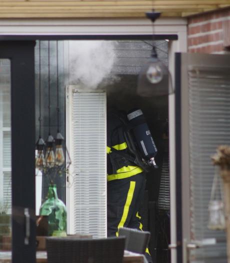Brandje in gebouw achter woning in Kaatsheuvel