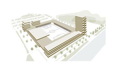 Iedereen aandeelhouder: supporters KMSK Deinze kunnen investeren in het nieuwe stadion
