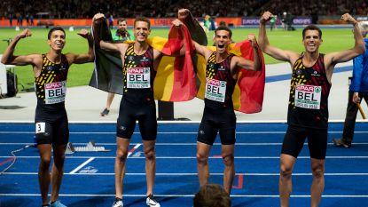 Straf lijstje: overzicht van alle finales die de aflossingsploeg 4x400m op kampioenschappen liep sinds 2008