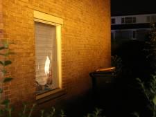 Heg in brand gestoken en steen door de ruit bij woning in Maartensdijk