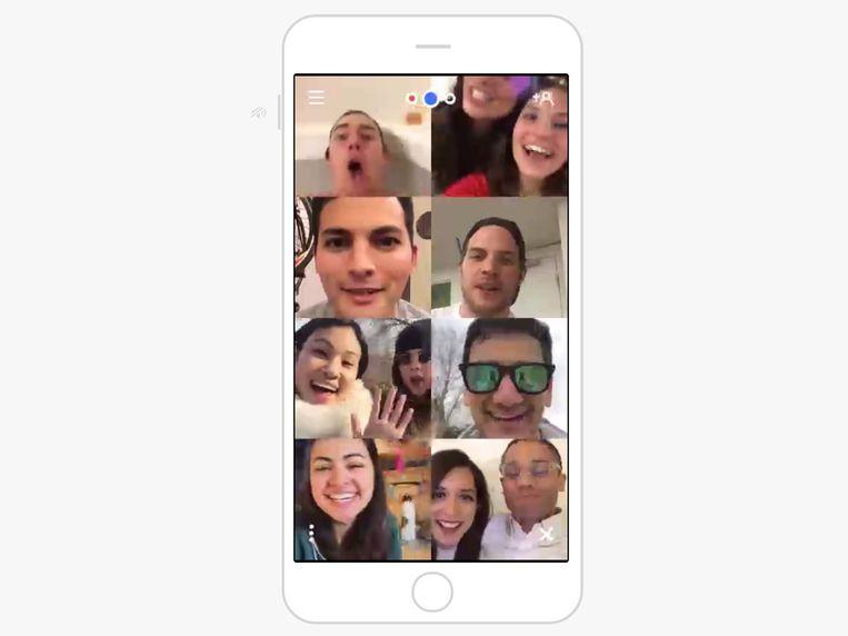 Elkaar digitaal ontmoeten kan via Zoom, Google Hangouts of de wat gezelligere apps Houseparty en Discord. Beeld
