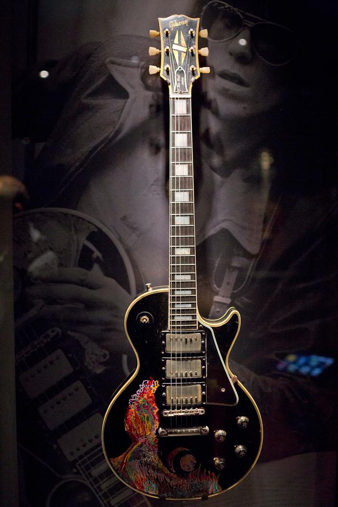 Een Gibson gitaar van Keith Richards.
