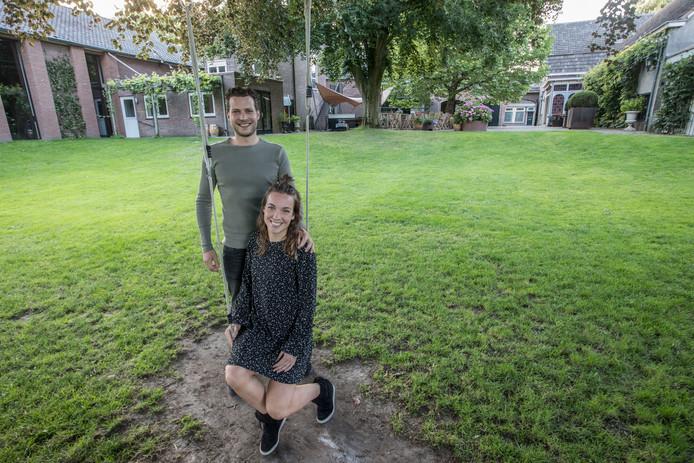 Teun Soetens en Marrit Maas zijn de nieuwe uitbaters van de Gouden Leeuw in Vessem.