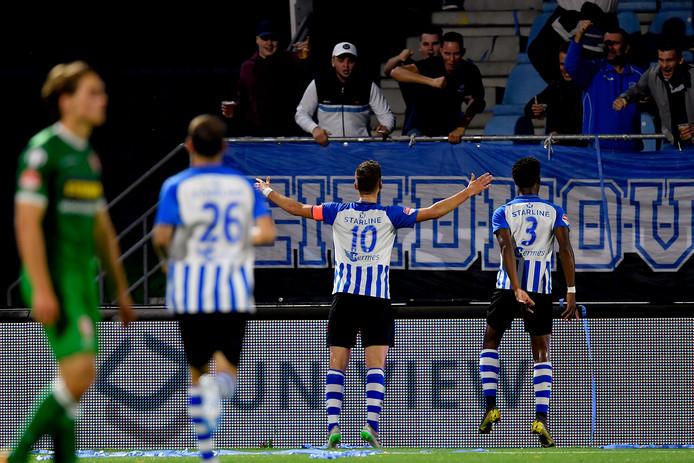 FC Eindhoven kon in eigen huis maar liefst vijf keer een doelpunt vieren met het publiek.