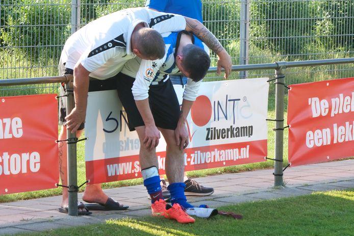 Archieffoto op Rijkerswoerd, waar het zaterdag goed mis ging tijdens een wedstrijd tussen ESA 10 en Elsweide 2; niet tussen spelers onderling.