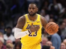Un LeBron James en feu, une sixième victoire de rang pour les Lakers