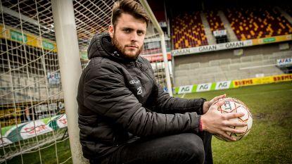 """KV Mechelen-doelman en uitblinker Coosemans: """"Ik probeer de fans gerust  te stellen"""""""