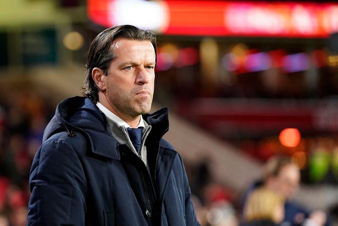 Ernest Faber heeft het stuur in handen gekregen bij PSV.