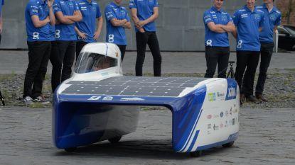 Studenten KU Leuven gaan voor eerste plaats op WK voor zonnewagens