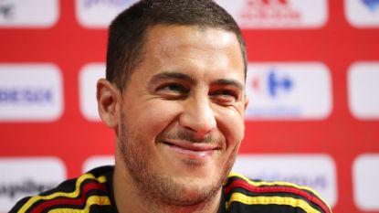 """Eden Hazard zoals we hem kennen: """"Als je me zegt dat ik de voorbije drie maanden de beste speler ter wereld was, ga ik volmondig akkoord"""""""