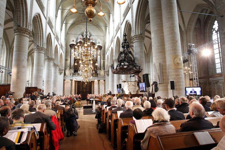 De Nationale Synode in de Dordtse Grote Kerk. Beeld ANP