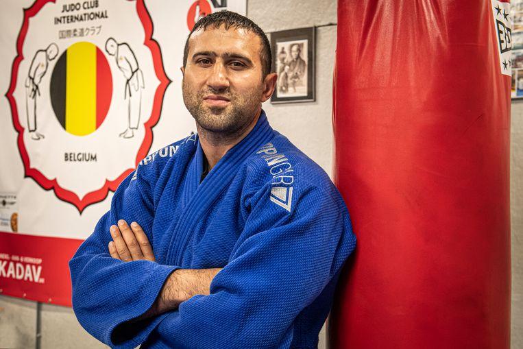 Mikhail Khatchatourian gaat voor een medaille in Marrakech.