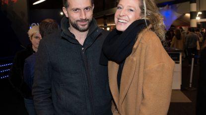 Cath Luyten toont nieuwe vriend