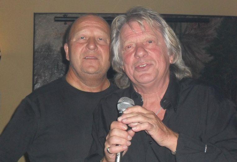 Hartsvrienden Johnny Nonclercq en Dave Durant
