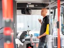 Kuchscherm voor buschauffeur Arriva: voorin instappen kan weer