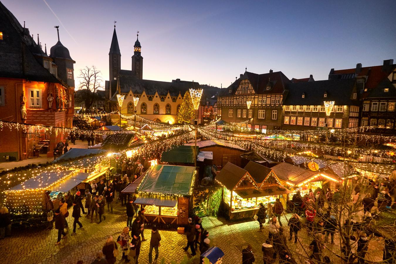 Kerstmarkt In Goslar Is Meest Sprookjesachtig Van Duitsland