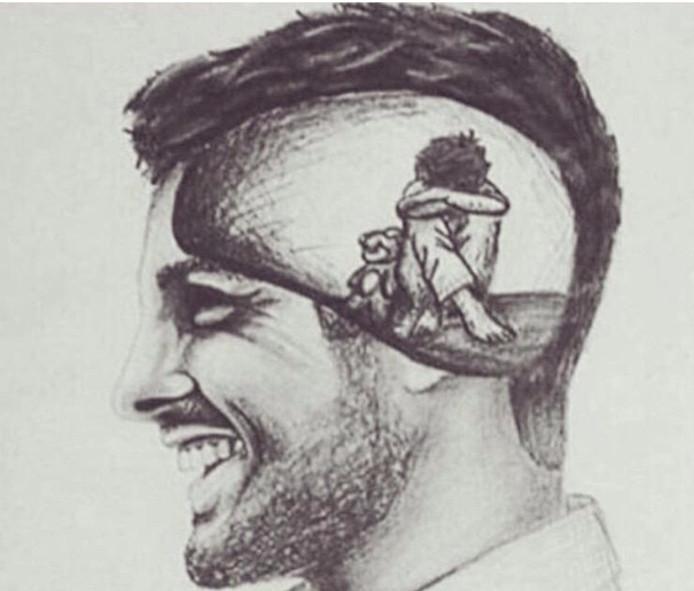 Is een glimlach de gemakkelijkste manier om je nare emoties te verbergen?
