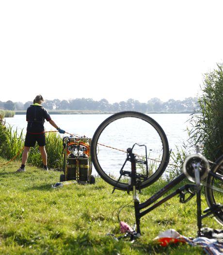 Massale zoektocht naar drenkeling in Zwolle beëindigd: 'slachtoffer' was haar fiets kwijt na frisse avondduik