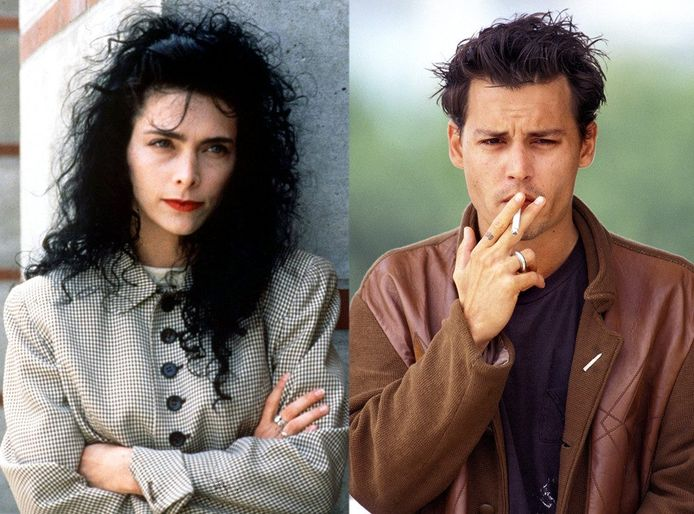 Lori Anne Allison et Johnny Depp