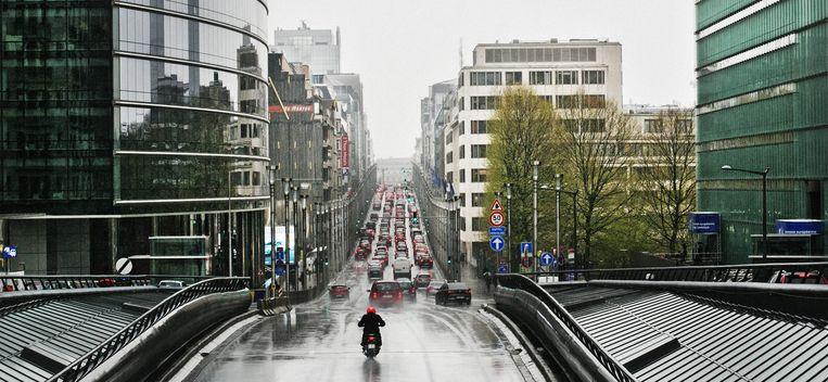 De Europese wijk in Brussel.
