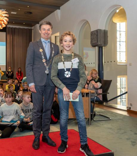 Kapelle heeft toch een (kinder)burgemeester: Hessel Kole (10)