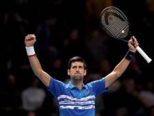 Djokovic tegen Medvedev, Zverev en Schwartzman op ATP Finals