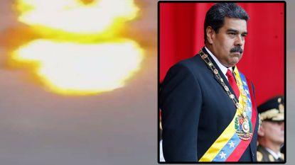 """Video toont drone-ontploffing """"tijdens toespraak Maduro"""""""