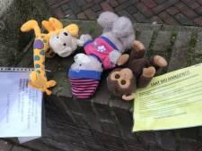 Utrecht hangt vol met knuffels: 'Voor de slachtoffers en survivors van seksueel misbruik'