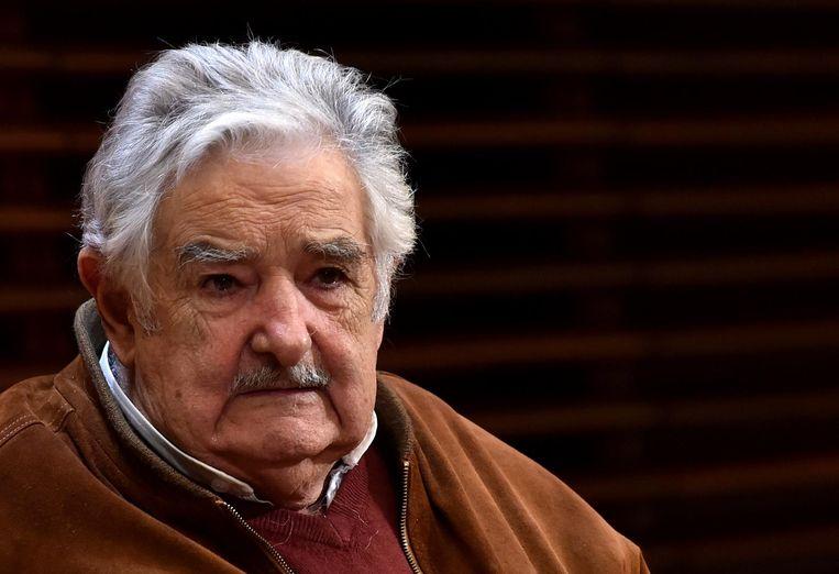 Voormalig president van Uruguay Jose Mujica. Beeld afp