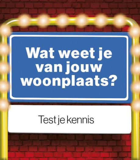 Leer je woonplaats beter kennen met deze quiz