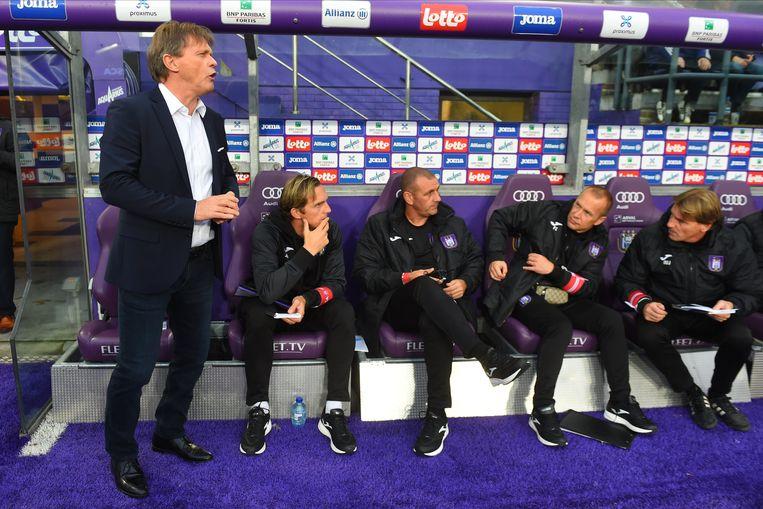 Vercauteren, De Roeck, Davies, Zetterberg en De Jong.