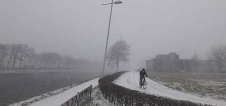 LIVE: sneeuw trekt Zeeland binnen