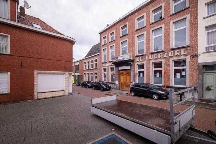 De voormalige kliniek van De Voorzorg in de Nieuwe Beggaardenstraat.