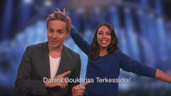 Danira Boukhriss zal dit jaar de Belgische punten voorlezen tijdens het songfestival, maar daar heeft ze uw hulp voor nodig