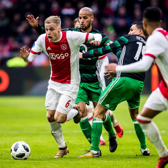 Ajax - Feyenoord, het eerste duel van 2018 voor Feyenoord