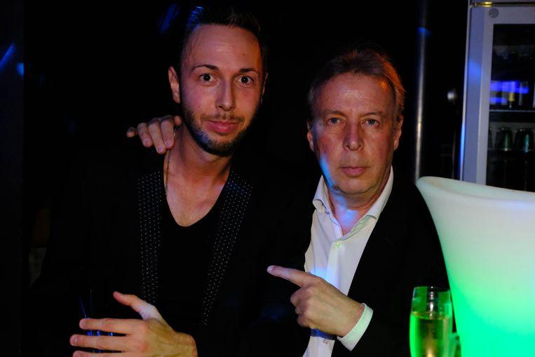 Willy Jacobs en zijn zoon