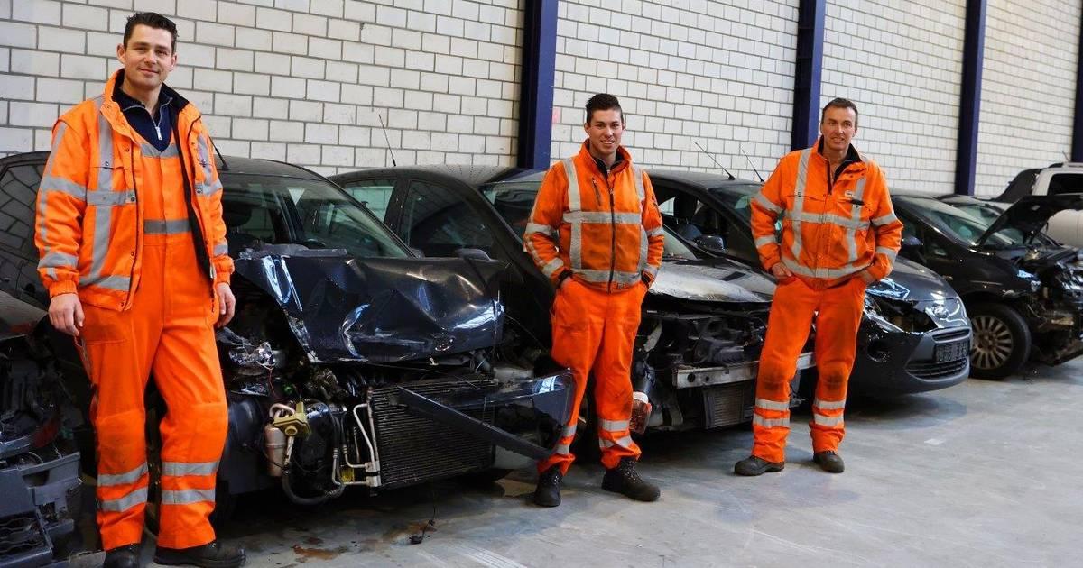 Tientallen ongelukken door gladheid: snelheidsbeperking op A2 bij Den Bosch.