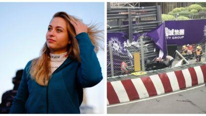 Horrorcrash in GP van Macau: 17-jarige coureur vliegt door de hekken en komt er als bij wonder levend vanaf