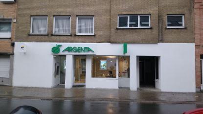 Bankkantoor Argenta op nieuwe locatie