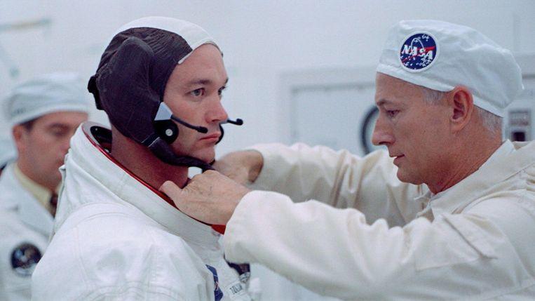 Beeld uit Apollo 11. Beeld