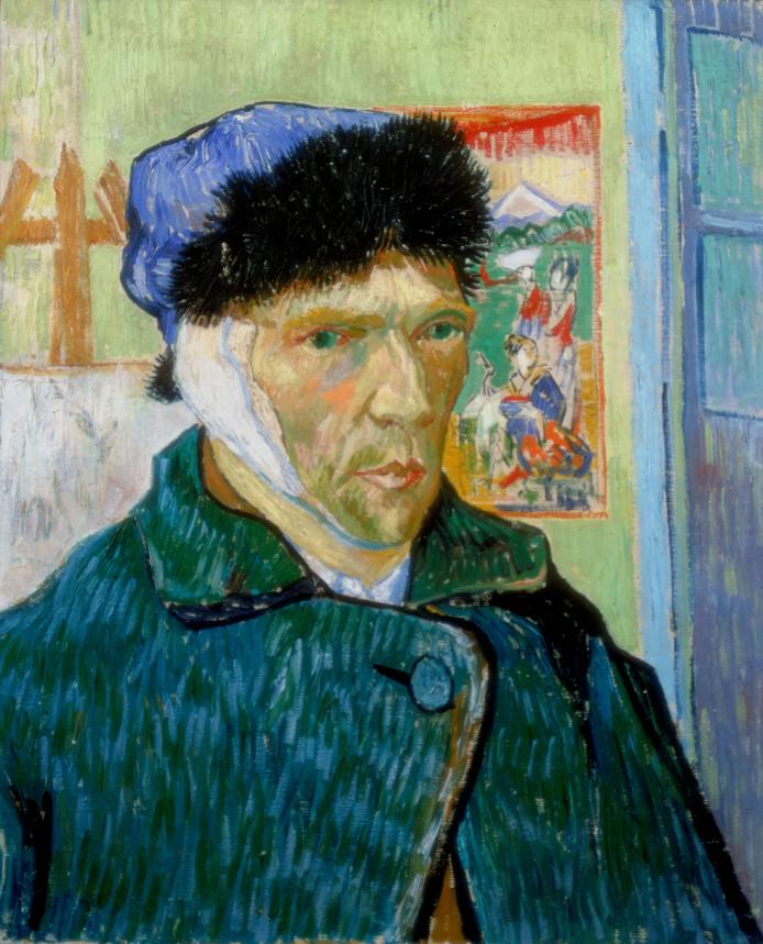 Zelfportret uit 1889.