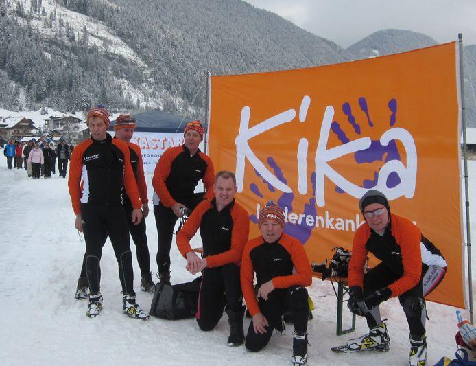 KiKa is al jaren met een sponsortocht verbonden aan de Alternatieve Elfstedentocht op de Weissensee.