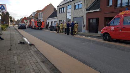 Gasgeur en vrijgekomen CO door defecte boiler, brandweer grijpt in