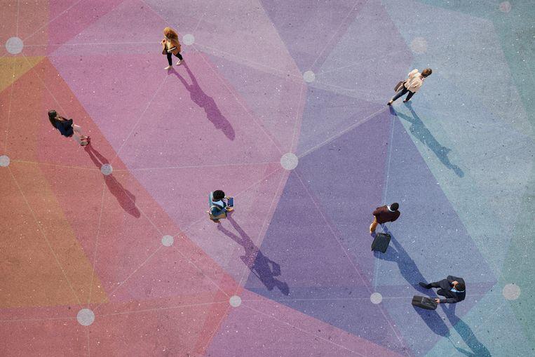 Op welk moment moet risico leiden tot quarantaine? Ethische afwegingen spelen daarbij mee.  Beeld Getty Images